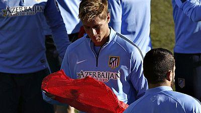 El entrenador rojiblanco concedió permiso a jugadores como Mandzukic o Arda y entrenó con el 'Niño' como delantero junto a Raúl García y a Griezmann.