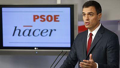 """Pedro Sánchez: """"Hay que mutualizar la deuda pública europea"""""""