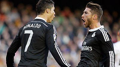 Cristiano Ronaldo ha batido otro récord porque por novena vez su nombre aparece en el equipo ideal de la UEFA. El único español es Sergio Ramos, en una selección de lujo que este año, más que nunca, habla alemán.