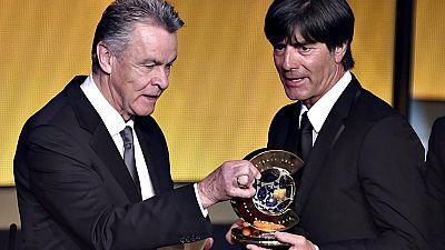 El técnico alemán Joachim Löw ha sido escogido por la FIFA como mejor técnico de 2014, por delante de Ancelotti y de Simeone. Se ha premiado así al Mundial conseguido por la selección alemana en Brasil.