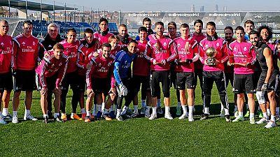 Cristiano Ronaldo dedica el Balón de Oro al equipo