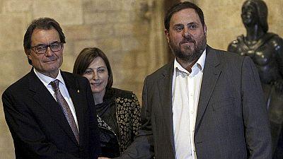 Los partidos en Cataluña valoran el adelanto de las elecciones