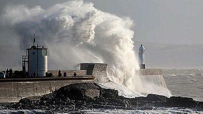 El primer temporal del año deja viento y lluvias en prácticamente todo el país