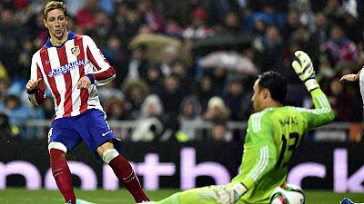 Fernando Torres marcó sus primeros goles en su regreso al Atlético de Madrid, y lo hizo en el mejor escenario posible para un rojiblanco: el Santiago Bernabéu, ante el Real Madrid y por partida doble. Dos tantos que mostraron lo que puede dar de sí u