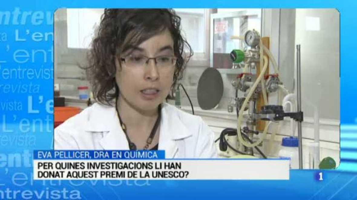 L'Entrevista de l'Informatiu Cap de Setmana: Eva Pellicer, química i investigadora premiada per la UNESCO