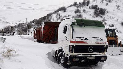 Puertos cerrados y alumnos sin poder ir a clases por la nieve