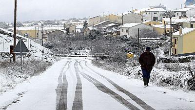 Continúa el frío en gran parte de la península