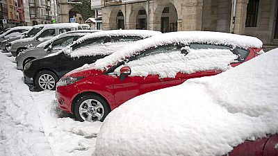 A partir de esta noche volverán la nieve y las temperaturas bajo cero