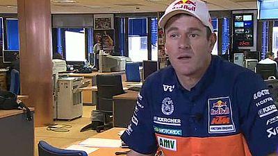 """El piloto español de KTM, ganador del último Dakar, ha asegurado que """"se tienen que dar las condiciones para dar el salto a las cuatro ruedas"""" y que, el año que viene, se ve """"encima de una moto""""."""