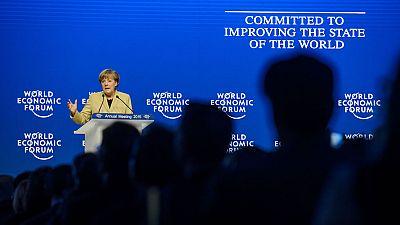 El programa de expansión cuantitativa del BCE acapara la atención de los debates en Davos