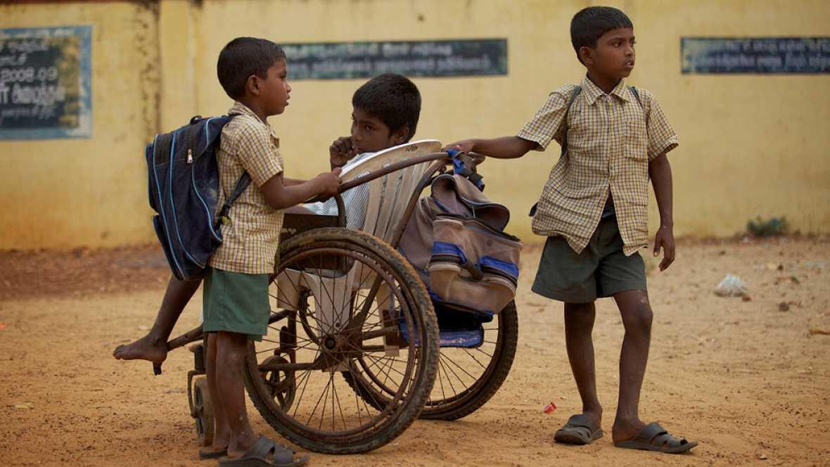 'Camino a la escuela'