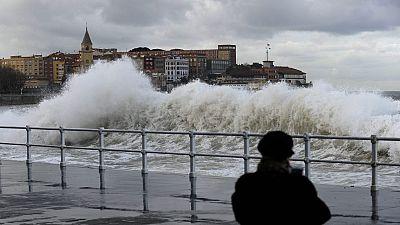 El temporal remite en casi toda España