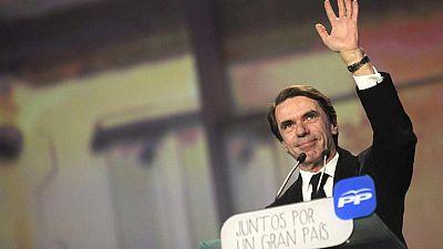 """Aznar: """"No he vuelto de ninguna parte porque no me he ido a ninguna parte"""""""