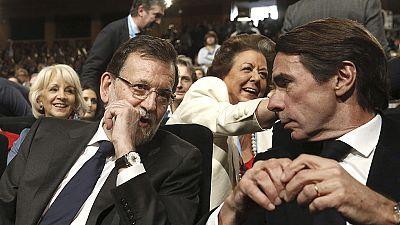 """Aznar dice que la corrupción es un """"cáncer"""" y que responde de sus actos """"del primero al último"""""""