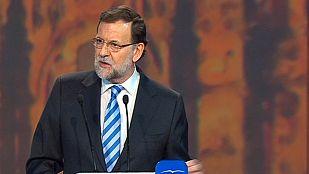 """Rajoy: """"No podemos permitir que la corrupción oculte el cambio hacia la prosperidad"""""""
