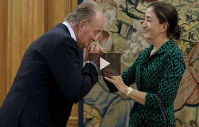 El Rey recibe a Ingrid Betancourt