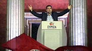 Syriza logra una victoria histórica contra la austeridad y roza la mayoría absoluta en Grecia
