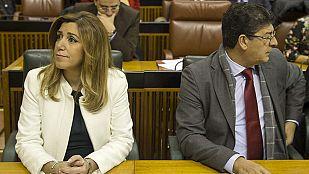 """Díaz adelanta las elecciones para """"no perder un año"""" ante falta de """"solidez"""" del Gobierno andaluz"""