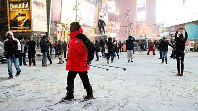 El noreste de EE.UU. afronta la llegada de un fuerte temporal de nieve