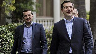 Tsipras formará un gobierno con diez ministerios y dará Defensa a sus socios de coalición
