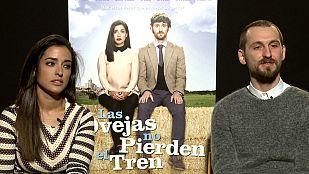 Entrevistas de la película 'Las ovejas no pierden el tren'