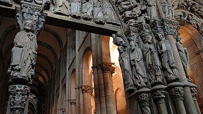 La restauración del Pórtico de la Gloria de la Catedral de Santiago durará 3 años