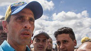 """Henrique Capriles: """"Nicolás se quedó solo. Ni los cubanos lo quieren"""""""
