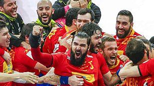 España gana a Dinamarca y se medirá a Francia en semifinales