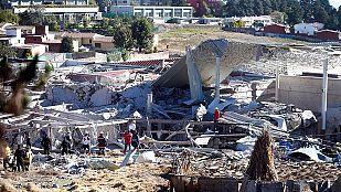 Al menos siete muertos al explotar un camión de gas frente a un hospital en México
