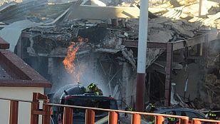 Continúa la búsqueda de posibles víctimas tras una explosión que ha dejado tres muertos en una maternidad de México