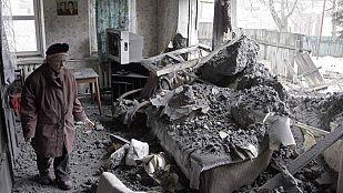 El diálogo entre Kiev y los rebeldes se rompe tras nuevos bombardeos en Donetsk