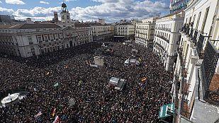 Podemos convoca una marcha por el cambio en Madrid