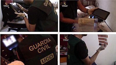 La Guardia Civil ha desarticulado una organización dedicada a la pornografía infantil