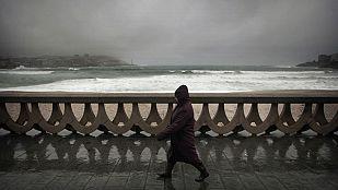 Nieve, viento fuerte y lluvias en gran parte del país