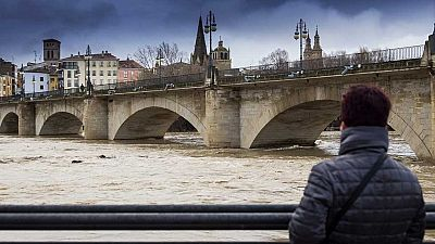 El temporal de lluvia, nieve y viento tiene en alerta a 34 provincias