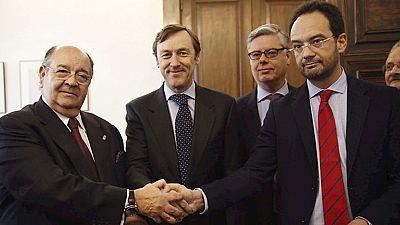 PP y PSOE registran en el congreso las medidas contra el terrorismo