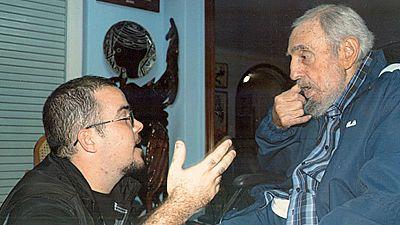 El diario 'Granma' publica fotografías de Fidel con un estudiante