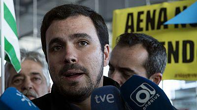 """Alberto Garzón no se plantea dejar IU y cree que Tania Sánchez ha sido una """"víctima"""""""