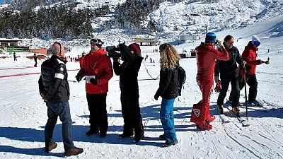 Gracias al campeón del mundo de esquí de velocidad Jan Farrell y a Dainese, se ha podido llevar a cabo en La Pinilla una prueba de fuego real para el novedoso sistema de seguridad que ya pueden usar los esquiadores.