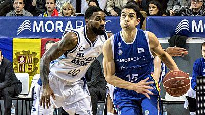El mejor partido de la carrera de Dani Díez (32 puntos, 6 triples, 36 valoración) le da el triunfo al Gipuzkoa Basket en Andorra (77-88). Los donostiarras dominaron durante todo el encuentro, llegando a ganar hasta por 26 puntos, pero los andorranos
