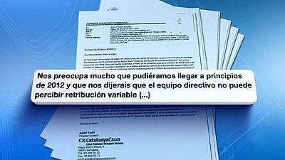 El expresidente de CatalunyaCaixa pedía una subida de sueldo antes de la intervención del FROB