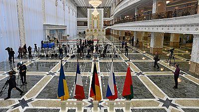 Hollande, Merkel, Putin y Poroshenko se reunirán para acabar con la guerra en Ucrania