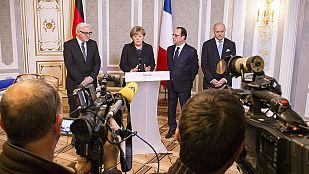 Los cumbre de Minsk termina con un acuerdo de alto el fuego en Ucrania a partir del 15 de febrero