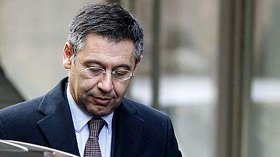 Bartomeu declara como imputado por un presunto fraude fiscal