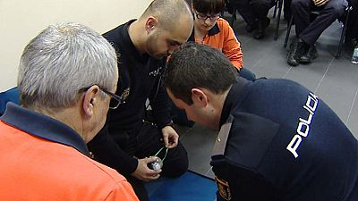 La formación sanitaria a la Policía ayuda a salvar vidas
