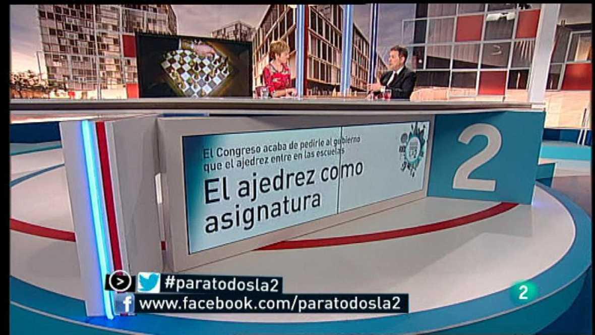 Para Todos La 2 - Entrevista - Miguel Illescas, el ajedrez en la escuela