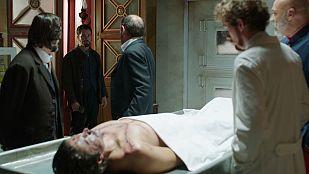 Víctor Ros - La reacción de Víctor al ver a Luis muerto en el laboratorio