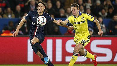 PSG y Chelsea empatan en la ida de octavos