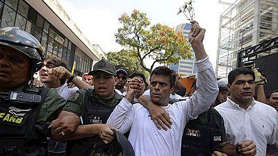 El líder opositor venezolano Leopoldo López cumple un año en prisión