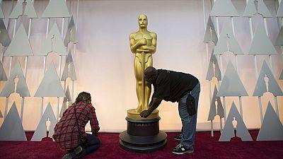 Todo preparado en Hollywood para celebrar la ceremonia número 87 de los Oscar